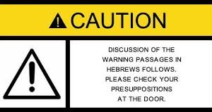 Warning Psaages in Hebrews