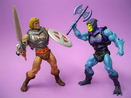He=man vs Skeletor