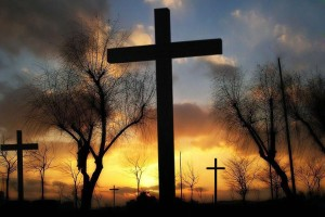 Crosses-with-trees-and-sunset