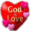 God Is Love Heart