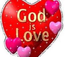 God Is Love Heart