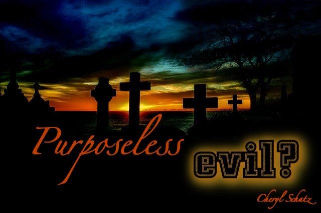 Purposeless Evil by Cheryl Schatz