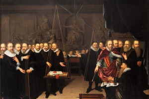 Dispute between Arminians and opponents