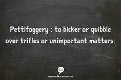 pettifoggery