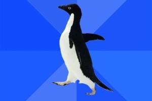 socially-awkward-penguin-meme-generator-non-sequitur-37c886